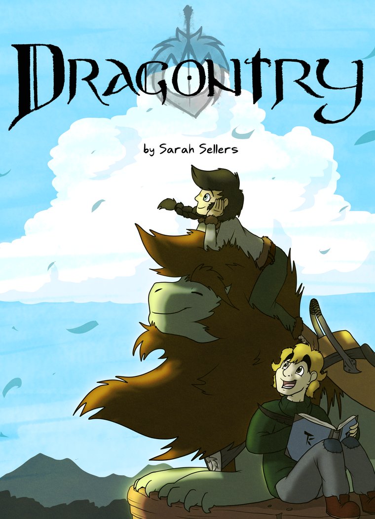 Dragontry Cover by DragonwolfRooke