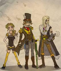 Steampunk Crew by Zulium