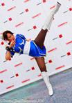 High Kick! (Chun Li Street Fighter Cosplay)