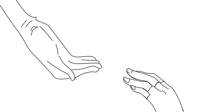 D Line Drawing Hand : Ibrahim s manifesto