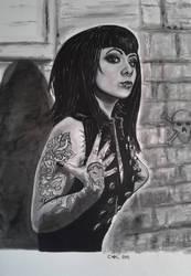 Gothic Girl 2 - Megan Massacre by doom-chris
