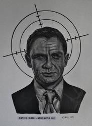 Daniel Craig - James Bond 007 by doom-chris