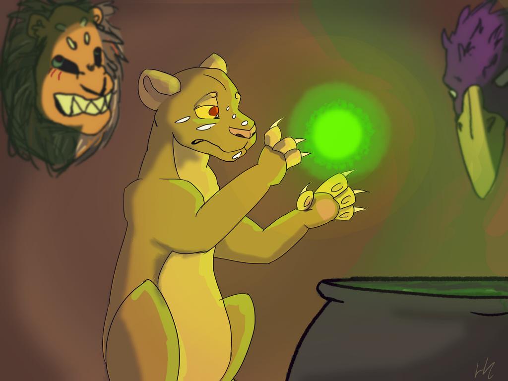 Lion Witch by peikonhannantupsu