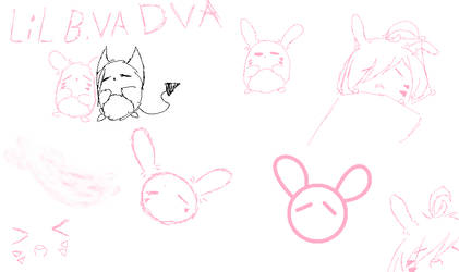 BunBun Doodles by YXNTANTAN