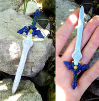 Master Sword Stylus for 3DS by altaiira