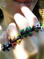 Four Seasons Ring Set by altaiira