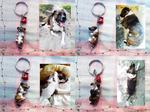 Custom Pet Dog 3D Portrait Keychain