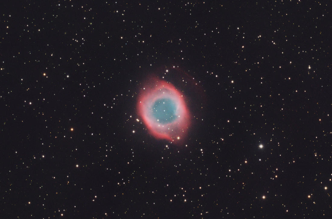 The Eye of God: The Helix Nebula by turbulentvortex on ...