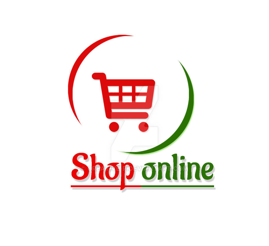 online store logo by creative-p