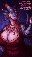 Priestess Tsah Makes Eyes At You