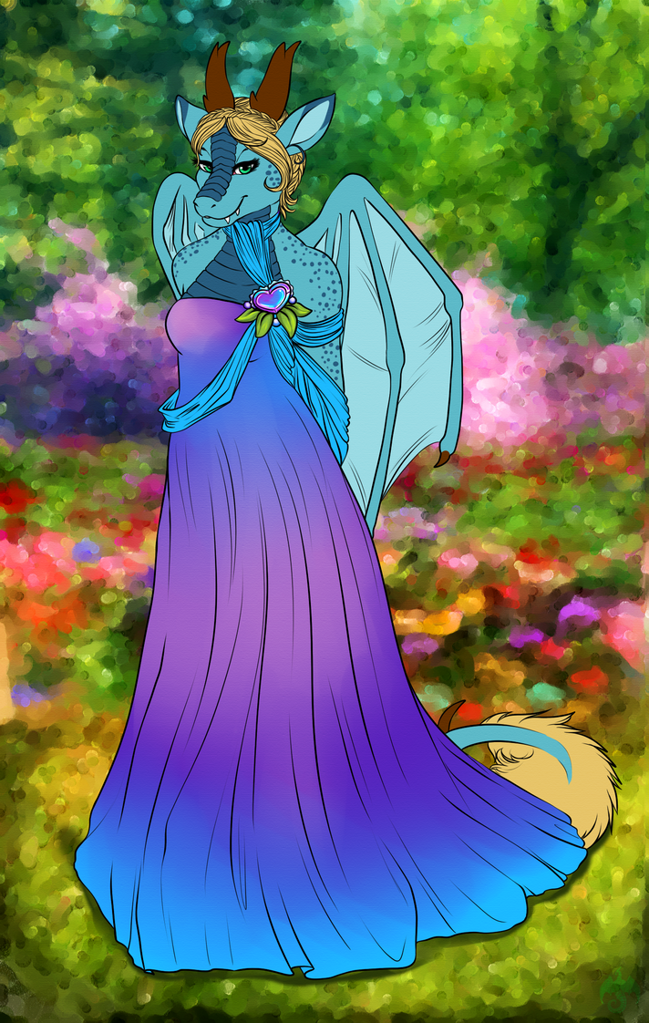 The Gardens of Spring by celestialsunberry