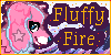 Fluffy Fire Icon by celestialsunberry