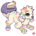 Sugar Rainbow Cake - CREAMBUN RAFFLE - CLOSED