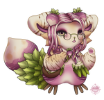Elegant Turnip - Arborling by celestialsunberry
