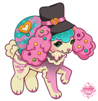 Cotton Candy Magician - CREAMBUNS - CLOSED by celestialsunberry