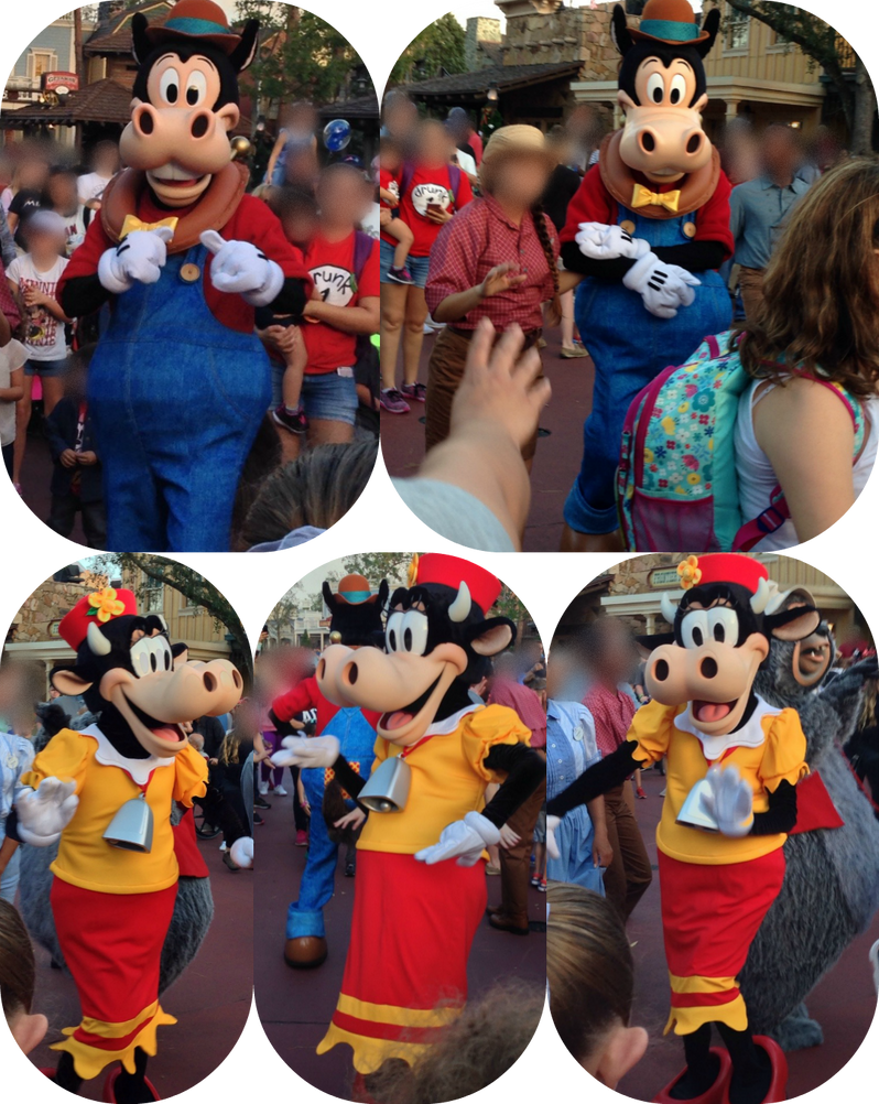 Horace Horsecollar And Clarabelle Cow
