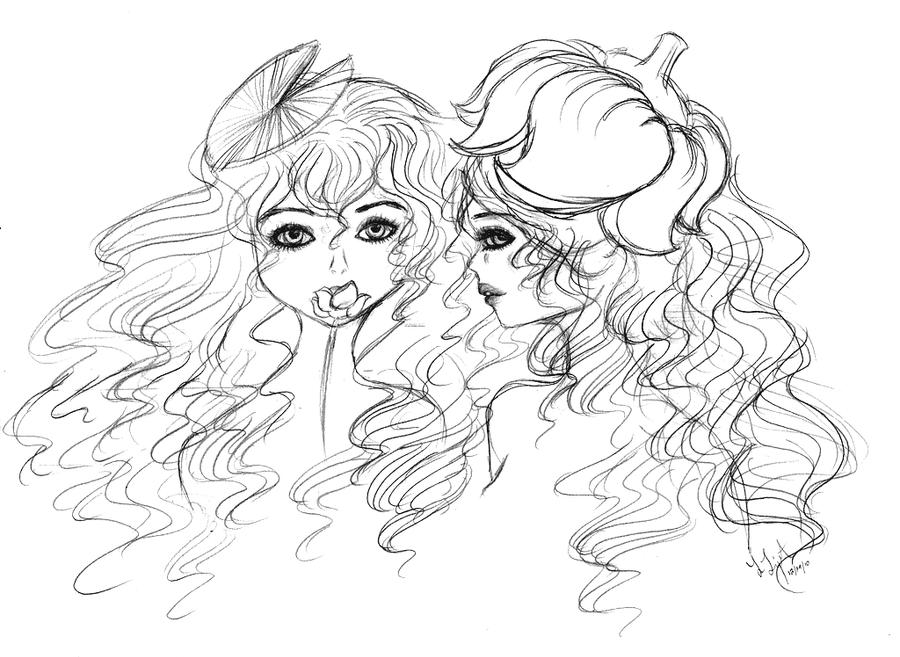 Lily Pond Sketch By Lealigot On Deviantart