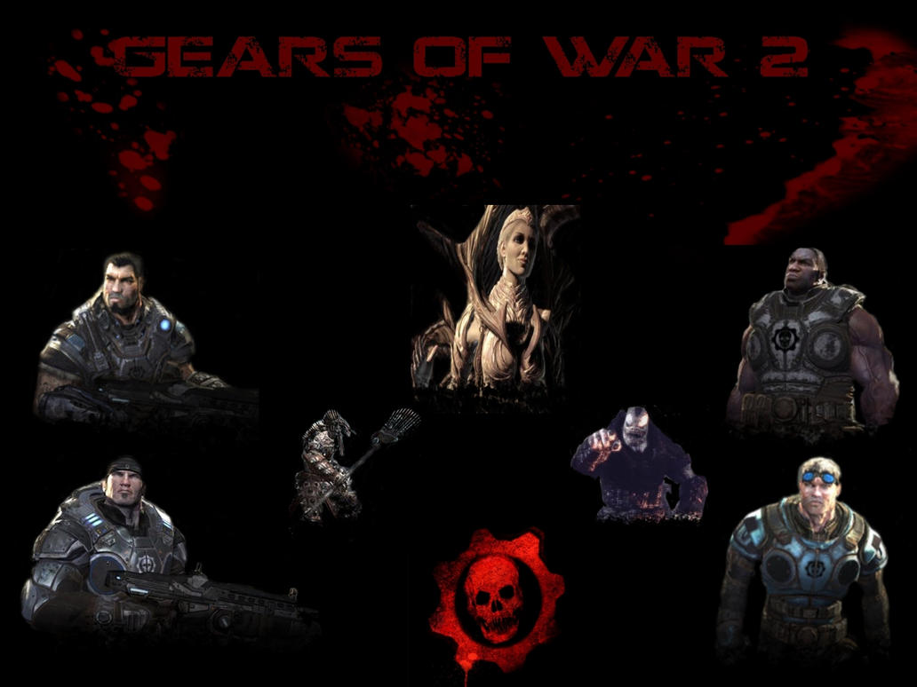 gears of war 2 wallpaperawesomemann on deviantart