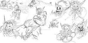 Vol'jin doodles