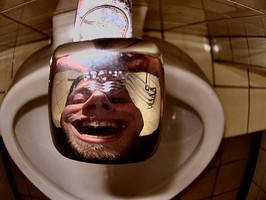 -urinal reflections- by calcross