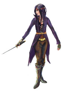 Female Assassin color version