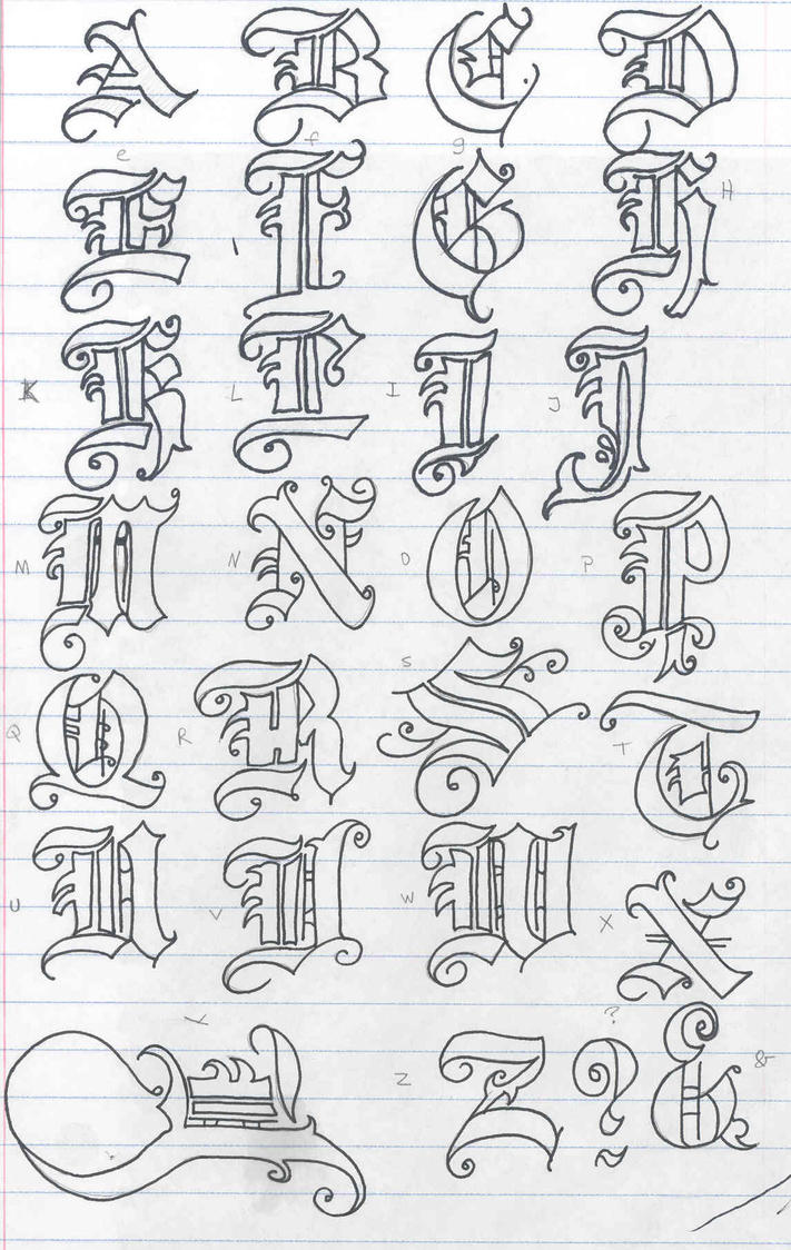 Old english letters by soranisasayaku on deviantart old english letters by soranisasayaku altavistaventures Gallery