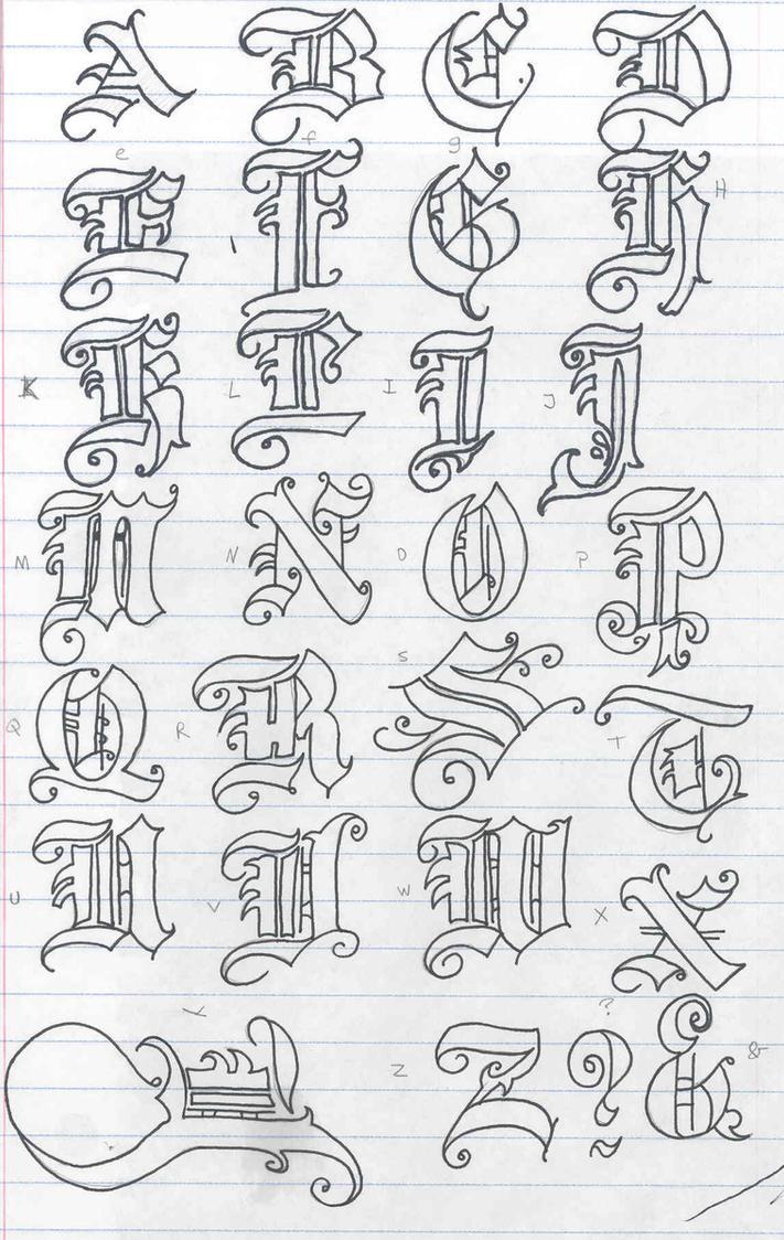 Old english letters by soranisasayaku on deviantart old english letters by soranisasayaku thecheapjerseys Choice Image