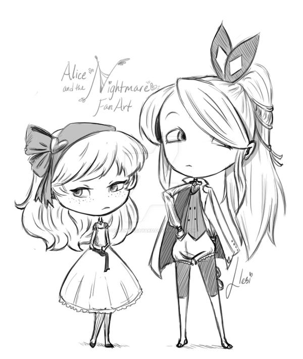 Alice and the Nightmare FA by SoraniSasayaku