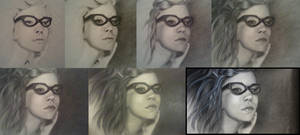 Tutorial for Girl with Glasses