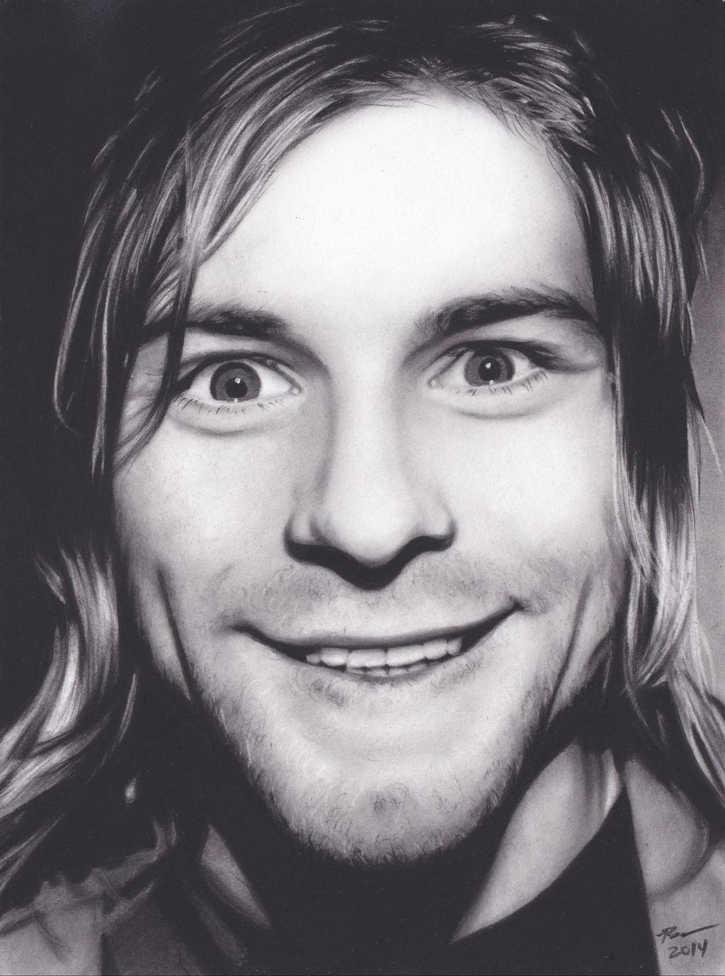 Kurt Cobain by xabigal-eyesx