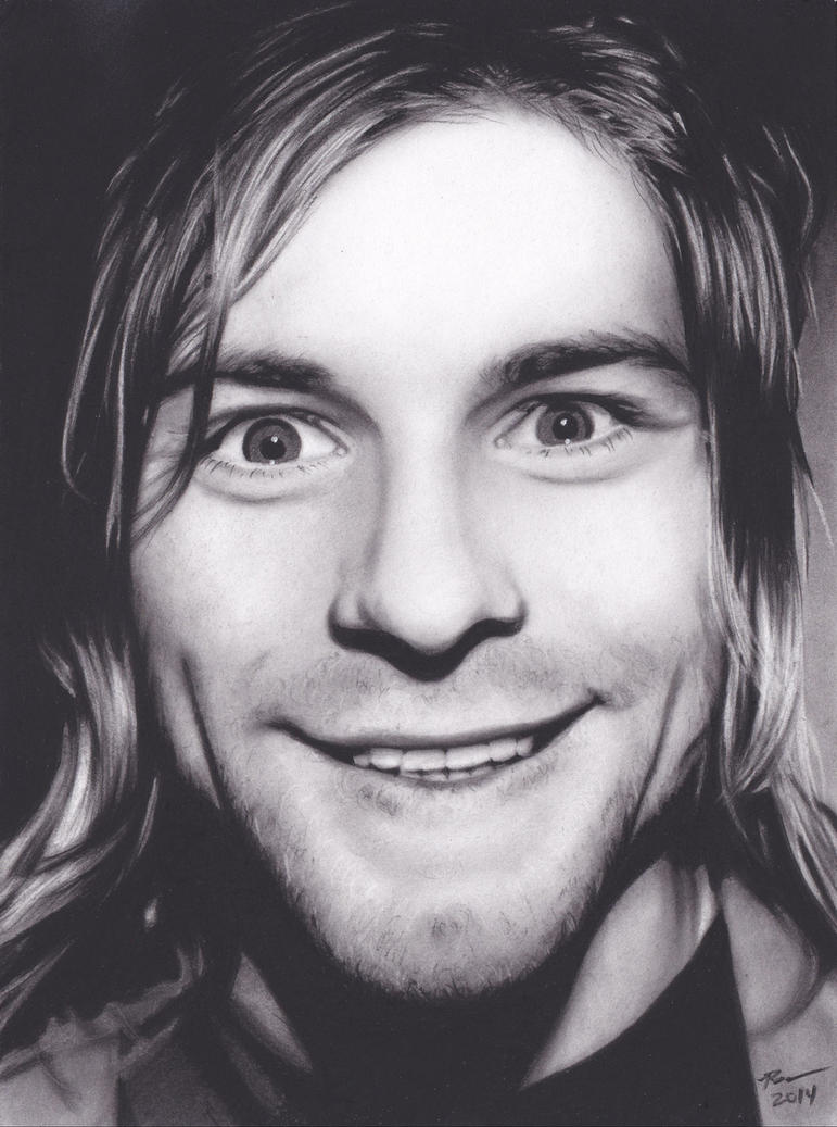 Kurt Cobain by xabigal-eyesx