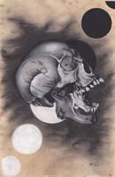 Large Skull by xabigal-eyesx