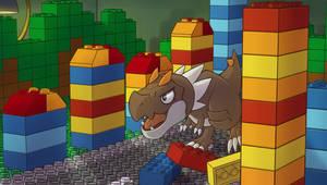 Tyrunt VS Lego