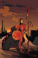 Oberyn Martell by dejan-delic