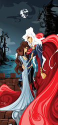 Lyanna and  Rhaegar by dejan-delic