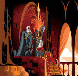 Doran Martell and Areo Hotah