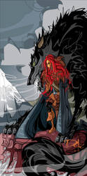 Rickon Stark become of age by dejan-delic