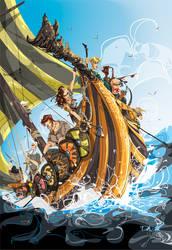 Shattered Sea by dejan-delic
