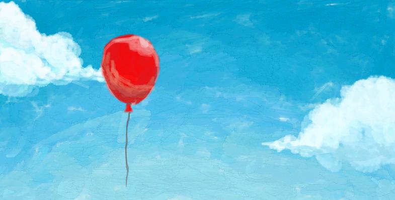 dA Muro: Balloon by heyfudge