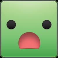 Big Green Block of Woe by heyfudge