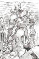 God of War by huronblakhart