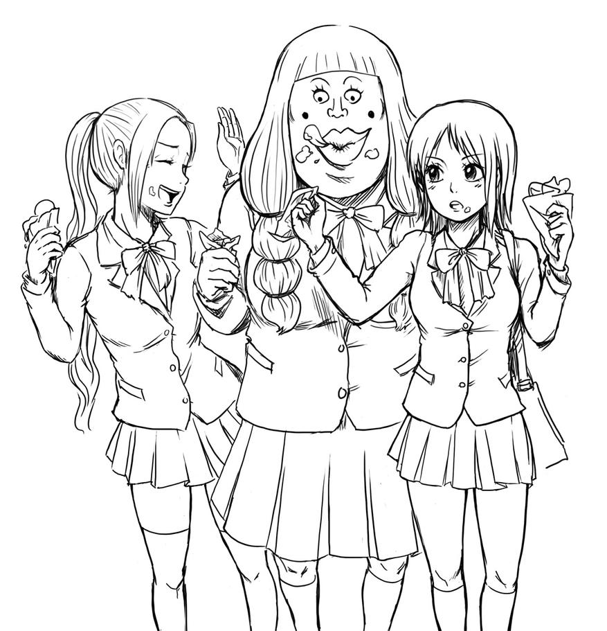 best friends forever coloring pages - best friends forever by eggycomics on deviantart