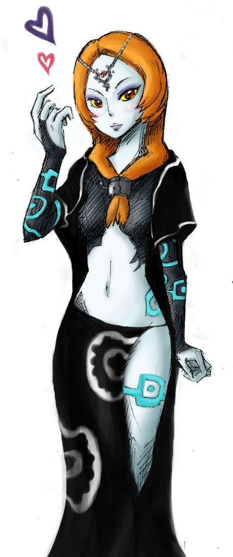 Heart Midna - Oh Oh BIG SEXY by EggyComics on DeviantArt