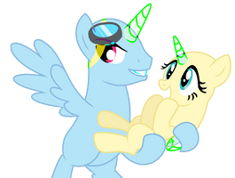 mlp couple base #2 by Cloudilicious
