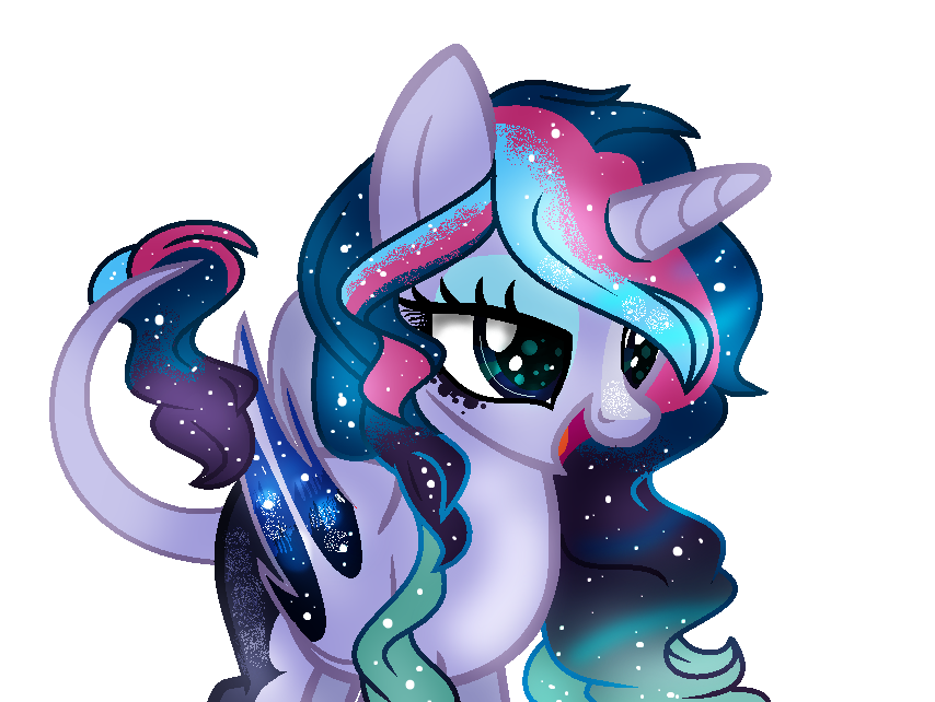 mlp oc galactic erosion by Cloudilicious