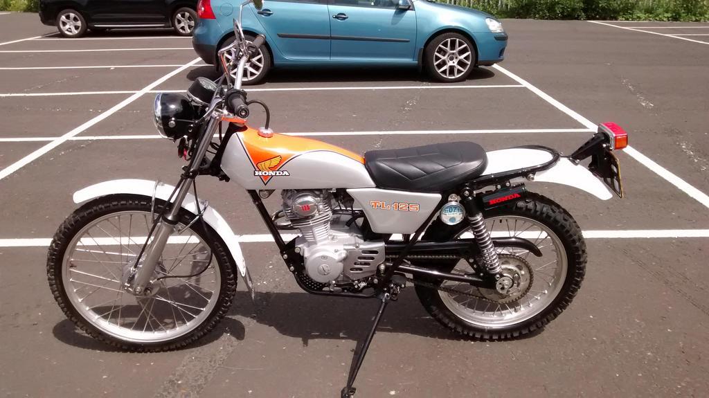 Honda 125 Trials 1 by kimberleyblackstar