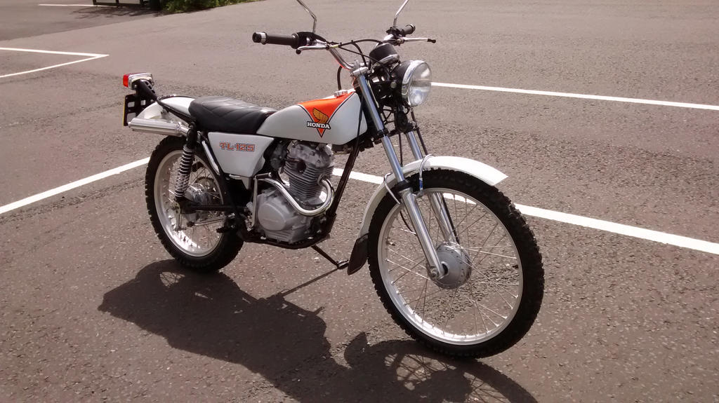 Honda 125 Trials 2 by kimberleyblackstar