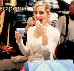 Emma Watson and Her Shrunken Treats