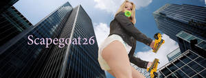Diapered Giantess by scapegoat26