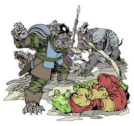 Rat King by karlann